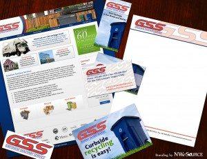 Gresham Sanitary Service Branding Package